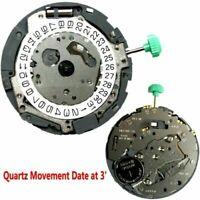 Für MIYOTA OS10 Japanisches Quarzuhrwerk Datum bei 3' mit Batterie Uhrwerk Teile