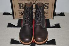 Ralph Lauren RRL USA Bench Made Brown Leather Ankle Boots 13