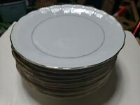 "Southington by Baum Empire pattern (11) 10"" Dinner Plates, Walbrzych Poland, EXC"