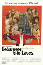 BETWEEN THE LINES Movie POSTER 27x40 John Heard Lindsay Crouse Jeff Goldblum