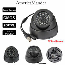 Indoor Outdoor Independent CCTV camera with card slot 32GB Live TV DVR output