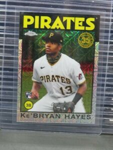2021 Topps Silver Pack Ke'Bryan Hayes 1986 Topps Chrome Rookie RC #86BC-14 H63