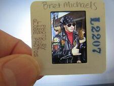 More details for original press photo slide negative - poison - bret michaels - 1990's - d