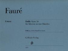 Henle Urtext Faure Dolly Op. 56
