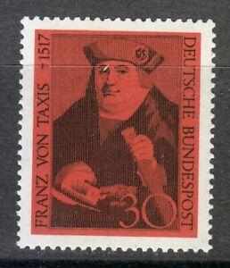 Germany 1967 MNH Mi 535 Sc 971 Franz von Taxis,founder of the postal system **