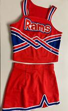"Cheerleader Uniform High School Adult Large Chest 36""- 38"" Skirt 27""- 29"" dressy"