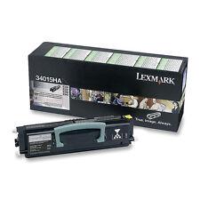 ORIGINALE TONER LEXMARK 34015ha 12a8405 e330 e322 e340 e342 a-Ware
