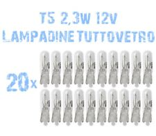 N° 20 Lampadine Tuttovetro 2,3W 12V per Fari Angel Eyes DEPO FK VW Golf MK4 2B5