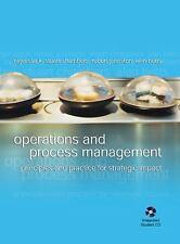Operations And Process Management Nigel Slack Chambers