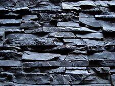 Fassade Klinker,Wand  Verblender, Riemchen, Riemchen, Deko-Stein San-Marino Grau