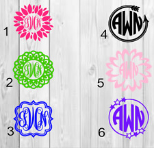 Personalized Monogram Decal C 3x3 (Perfect for Yeti Cup)