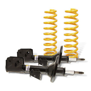 Front Shock Absorbers Raised King Coil Springs for Jeep Grand Cherokee WH Wagon