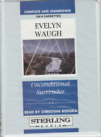 Evelyn Waugh Unconditional Surrender 8 Cassette Audio Book Unabridged FASTPOST