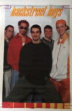 Backstreet Boys Poster Original Vintage Pin-up Retro 1990's Group Shot Boy Band