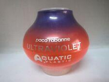PACO RABANNE ULTRAVIOLET AQUATIC PLASTIC 2.7 oz EDT Spray Sealed NIB See Descr.