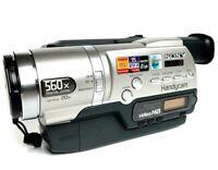 Sony Handycam CCD-TR748E Video Hi8 PAL (FAULTY - Error C:21:00)