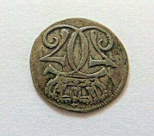 Norway Silver Skilling 1768, KM 245