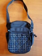 Eddie Bauer Small Navy BlueCarry On Shoulder Luggage Bag   Travel