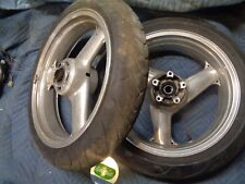 1994 ZX9r zx 9 zx-9r FRONT & rear rims rim wheels wheel polished ninja zx9