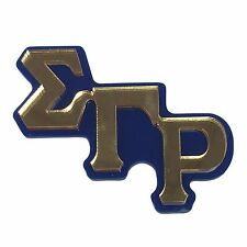 Sigma Gamma Rho (#LGPM) Mirror Letters Giant Pin