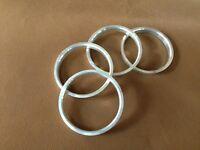 Hub centric rings Aluminum Hubrings73mm Wheels to 70.1mm Car Hub 4