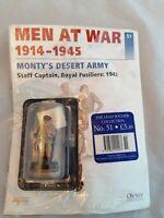 Del Prado men at war issue 51 Monty's Desert Army - Staff Captain, Royal Fusilie