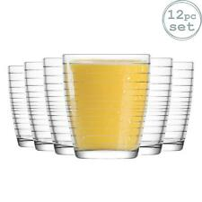 Apollon Water / Whisky / Juice Tumbler Drinking Glasses - x12 - 340ml