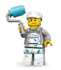 Lego minifig series 10 Decorator / painter with bucket and paint roller