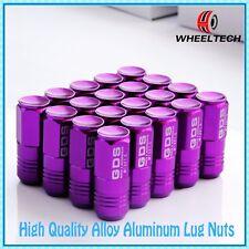 20 Purple Wheel Lug Nuts 50mm Closed End for M12X1.5 Toyota 4 Runner Sienna BMW