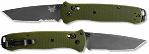 Benchmade 537SGY-1 Bailout CPM-M4 Gray Tanto Serrated Blade