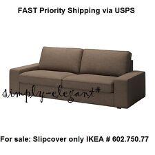 Ikea KIVIK Cover for IKEA KIVIK Sofa Couch Isunda Brown Slipcover NEW sealed box