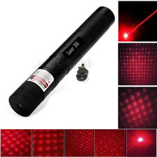 8000M Red Laser Pointers 303 1mw 650nm Pen Light Lazer Visible Beam Zoomable
