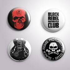 4 BLACK REBEL MOTORCYCLE CLUB - Pinbacks Badge Button Pin 25mm 1''