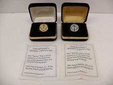 Todd McFarlane Spawn Collector's Ring Set Gold With Diamonds #/25 & Silver #/495