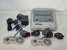 Super Nintendo Entertainment System SNES Console /PAL /2 Controllers /6 Games B1