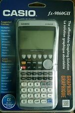 Brand New Factory Sealed Casio FX-9860GII Graphing Calculator