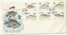1989 Zimwabwe FDC cover Fish of Zimbabwe