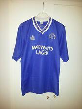 maglia calcio Rangers Glasgow anno 1987 marchio admiral