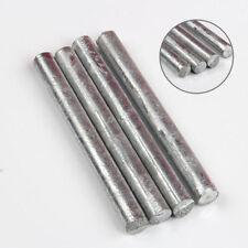 Zn 99,95% Zink Stangen Anode Elektrode für Zinkelektrolyt Galvanik 100mm x 10mm