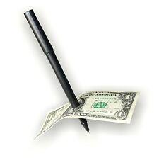 Magic Trick Pen - Penetration Pen Through Dollar Bill or Any Paper