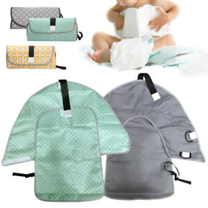 Newborn Baby Infant Nappy Changing Pad Foldable Changeaway Travel Kit Padded Mat