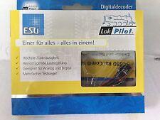+++ ESU 54680 RailCom® Sendemodul, mit Anschlussleitungen, 5 Stück Packung