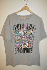 Mens Adidas go to San Antonio Spurs 2014 Champions T-Shirt Size Large
