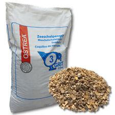 OSTREA® Muschelschalengrit 25 kg Grit Muschelgrit Muschelschrot Muschelkalk