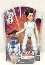 """Star Wars Forces Of Destiny Princess Leia Organa 11"""" Doll R2-D2 Action Figure"""
