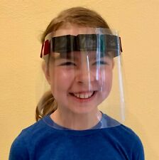 Child Size Reusable Face Shield - Protective Face Cover for Kids
