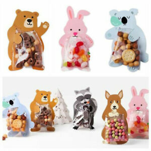 Rabbit Koala Animal Greeting Cards Candy Gift Bag Boards Gift Bags Cookie Bags