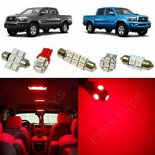 5x Red LED lights interior package kit for 2005-2014 Toyota Tacoma TT3R