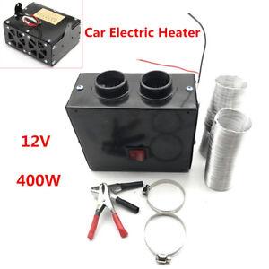 Car 400W 12V Fan Electric Heater Winter Warm Wamer Windscreen Defroster Demister