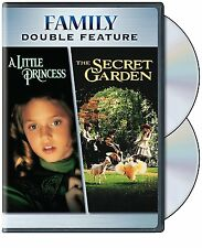 The Secret Garden + LITTLE PRINCESS DVD NEW! FAMILY MOVIE! HOPE AND LOVE GROW!